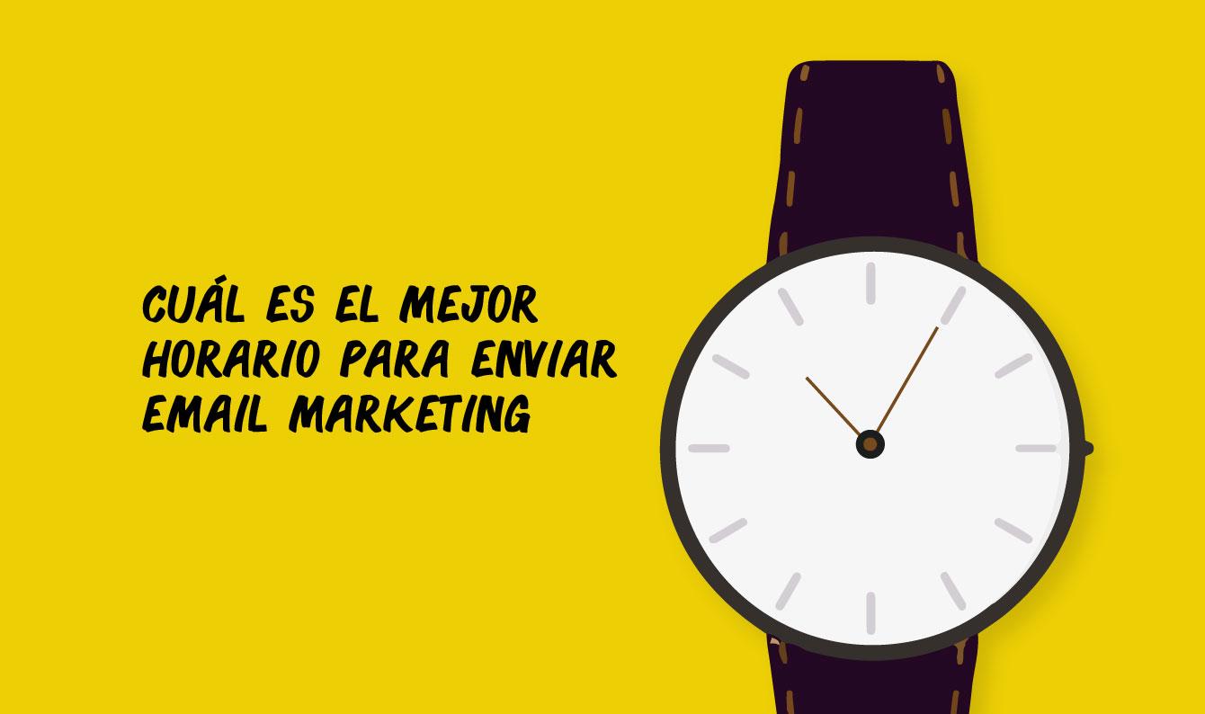 El mejor horario para enviar email marketing