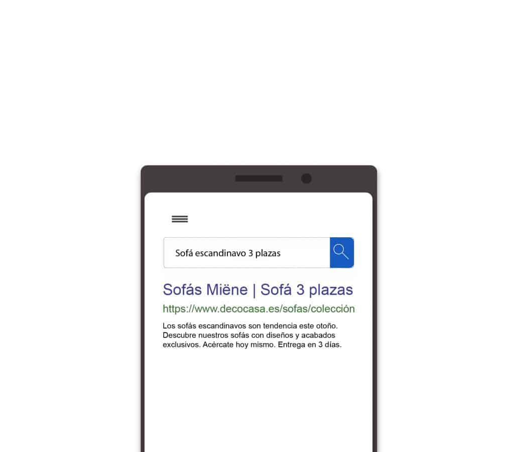 ejemplo red de búsqueda