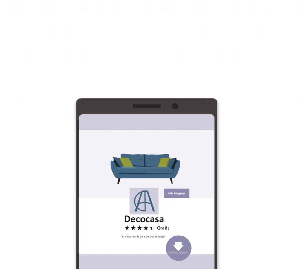 ejemplo publicidad aplicación